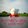 """In Other Words: """"I Love You"""""""