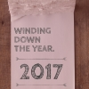 Winding down the year