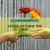 Giving outside the box
