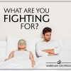Marriage Counseling: What are you fighting for?