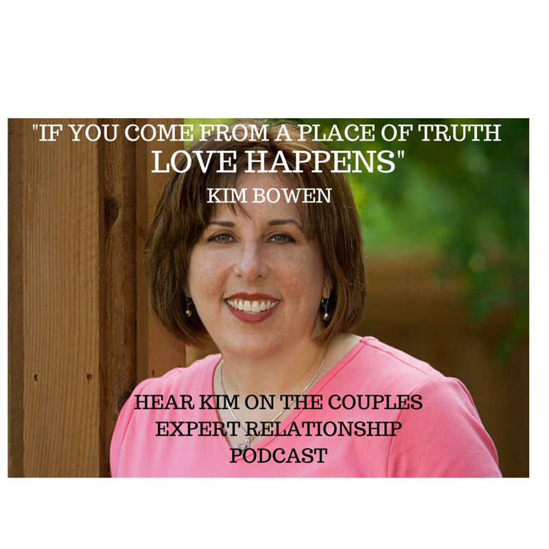 Kim Bowen was a guest talking about couples therapy on The Couples Expert Relationship Podcast