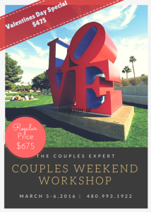 Flyer Couples Weekend Valentines Special