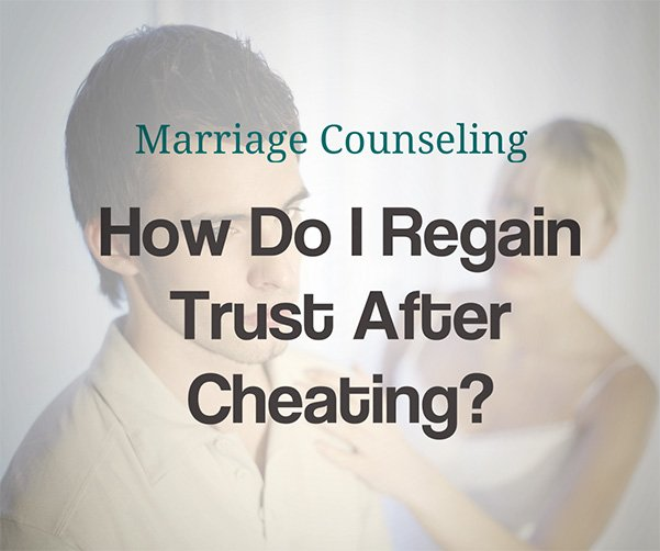 How to restore trust after cheating