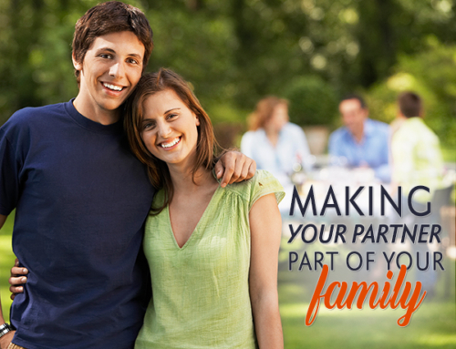 Making your partner part of your family